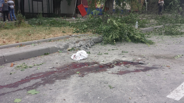 Der Tod im Donbass ist allgegenwärtig