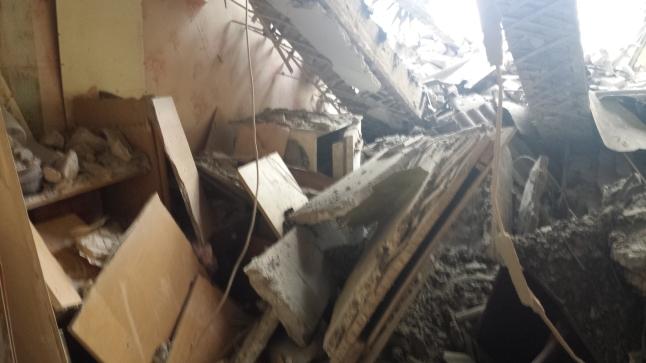 Bomben auf Donezk
