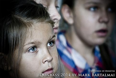 Kinder von Donezk