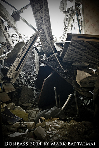 Bomben auf den Donbass