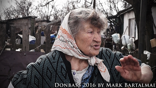 Life on the front line in Donetsk